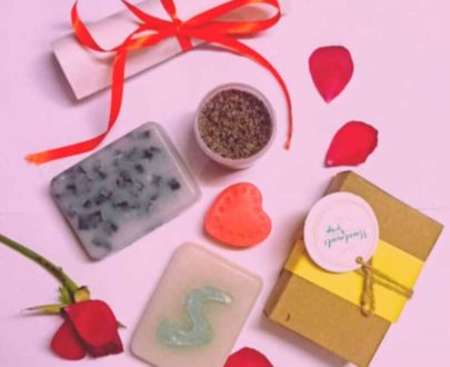 Handmade Natural Soap Kit by Sanysta OrganicDukaan