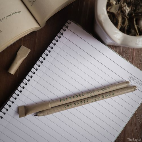 Paper Seed Pen by TheSagez OrganicDukaan