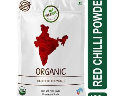 Organic Red chilli powder Lal Mirch Orgabite OrganicDukaan