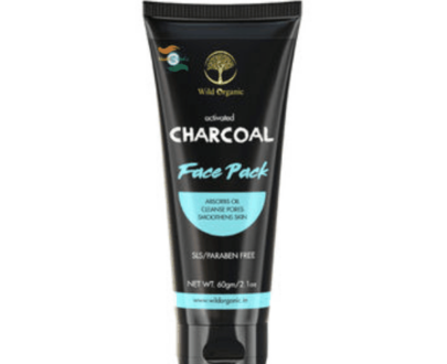 Wild Organic Activated Charcoal Face Pack OrganicDukaan
